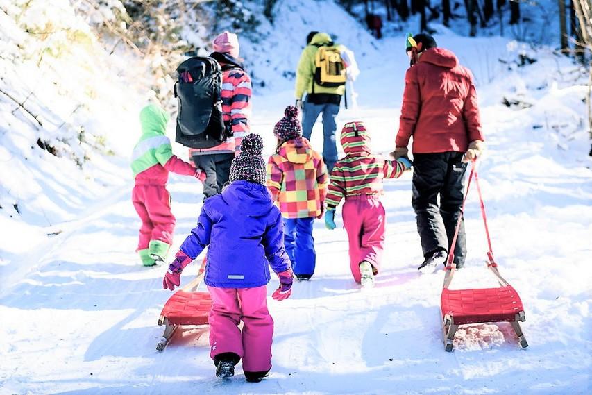 Zimske olimpijske igre za otroke (ideje za športne aktivnosti na prostem)