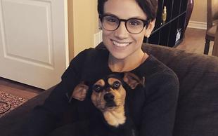 Kanadska drsalka rešila psička iz farme za meso