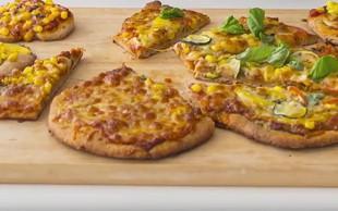 Najboljše kosilo: Pica s polnozrnatim testom (video)