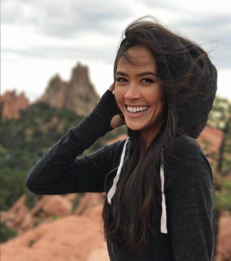 25-letna umetnostna drsalka Madison Chock (ZDA)