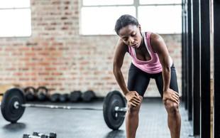 Kaj storiti, ko pregorite zaradi vadbe?