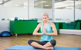 Ko gre vse narobe, se zatecite k jogi