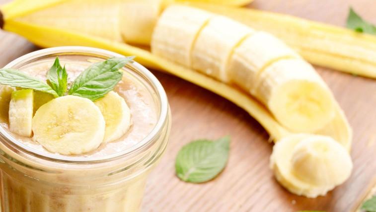 Bananin smuti za po treningu (z beljakovinami in zdravimi maščobami) (foto: profimedia)