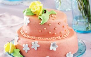 Torta z rožicami