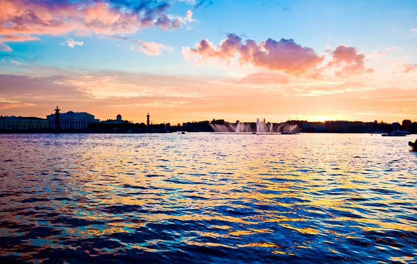 Sankt Peterburg  bela noč