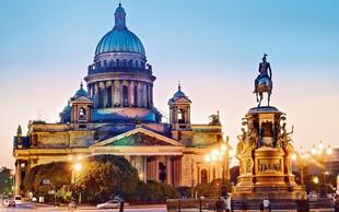 Sankt Peterburg - doživite čar belih noči