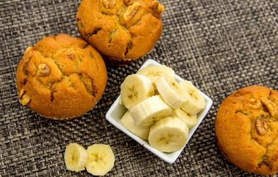 Recept: Kolački z medom in banano