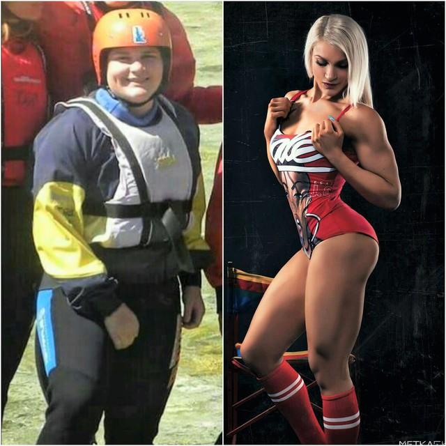 Navdihujoča zgodba Slovenke: od dekleta s prekomerno težo do fitnes tekmovalke