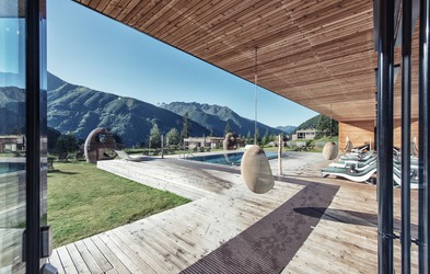 Prava sprostitev v vzhodnotirolskih gorah