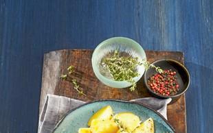 Svinjski kotleti z aromatičnim krompirjem