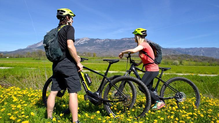Ideja za izlet: E-kolesarjenje po Vipavski dolini (foto: Marko Repše)