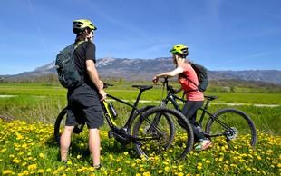 Ideja za izlet: E-kolesarjenje po Vipavski dolini