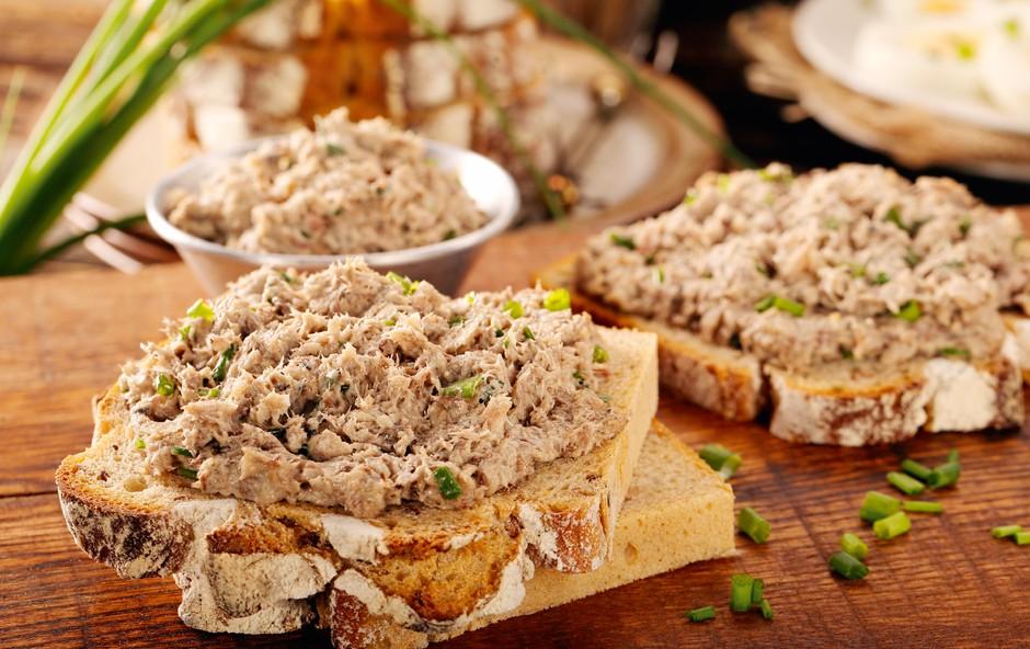 Primerjalno ocenjevanje: Kako kakovostne so tunine paštete? (foto: Shutterstock)