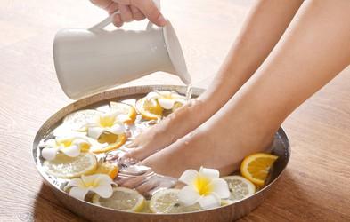 Domača sredstva za nego stopal in proti trdi koži
