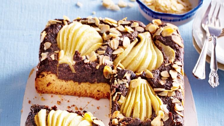 Makova torta s hruškami (foto: Profimedia)