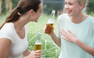Takšne posledice imajo na telo alkoholne pijače