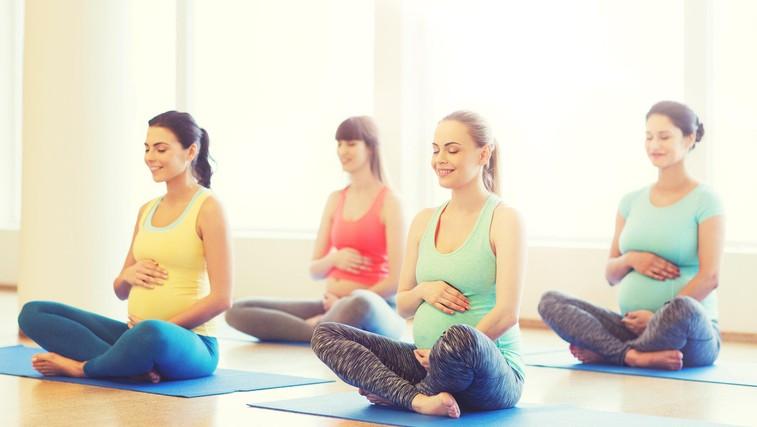 Kako telovaditi med nosečnostjo (+ video trening) (foto: Profimedia)