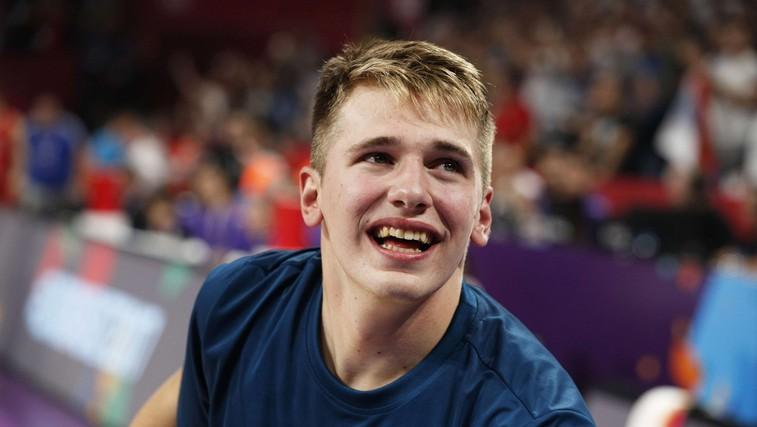 Luka Dončić: Nasmeh mladeniča, ki je očaral in osvojil Evropo (foto: Profimedia)