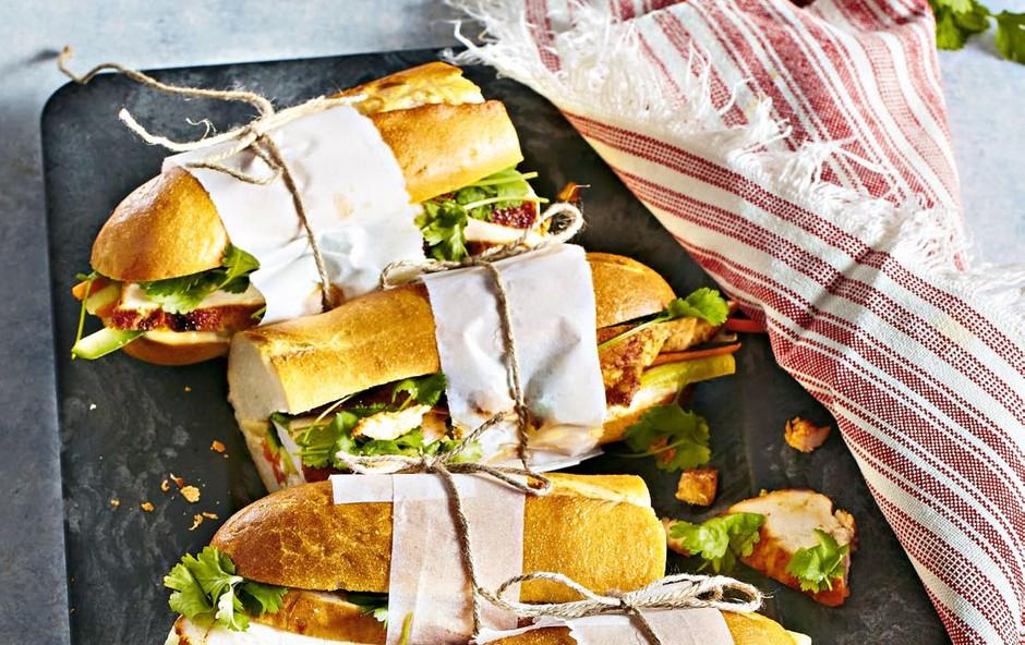 Vietnamski sendviči spiščancem – Bahn-mi (foto: Profimedia)