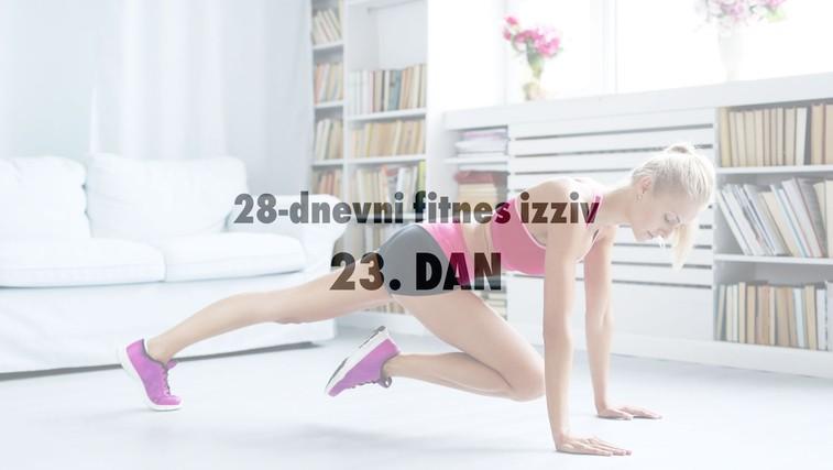 28-dnevni fitnes izziv: 23. DAN (+ Načrt okrevanja po napornem treningu) (foto: Profimedia)