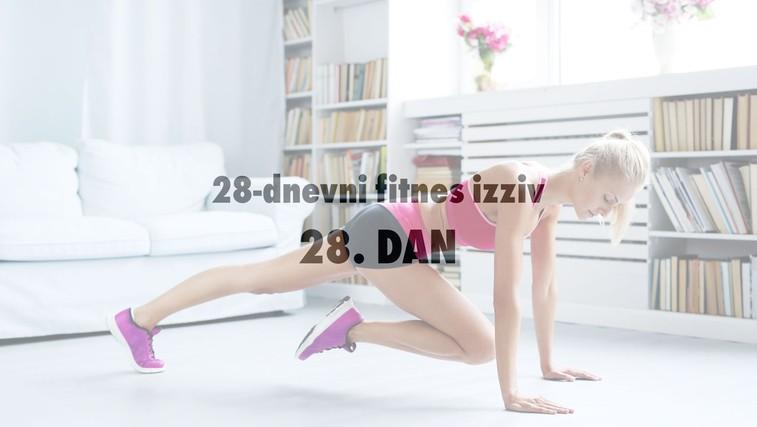 28-dnevni fitnes izziv: 28. DAN (foto: Profimedia)