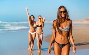 Kako jesti, če želite na plaži požeti nevoščljive poglede drugih žensk