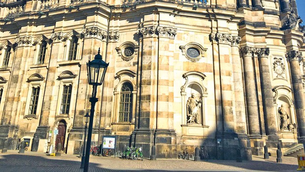 Dresden – najbolj zeleno evropsko  mesto (foto: Helena Kermelj)