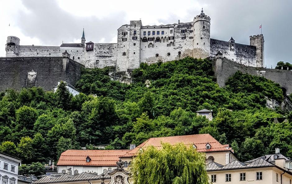 Salzburg, baročno mesto z veliko  kulturno-zgodovinskimi postanki (foto: Suzana Golubov)