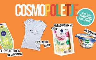 Spremljajte Cosmo poletje - vsak teden vas čakajo super darila!