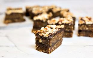 Lešnikovo-čokoladne kocke
