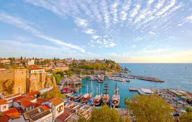 Antalya - mesto, ki ponuja veliko več kot le kopanje v morju