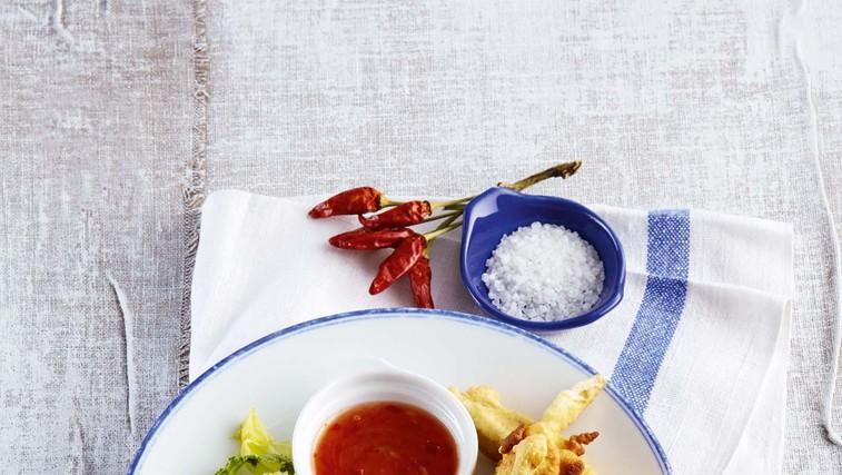 Ocvrti stročji fižol s pikantno pomako (foto: Profimedia)