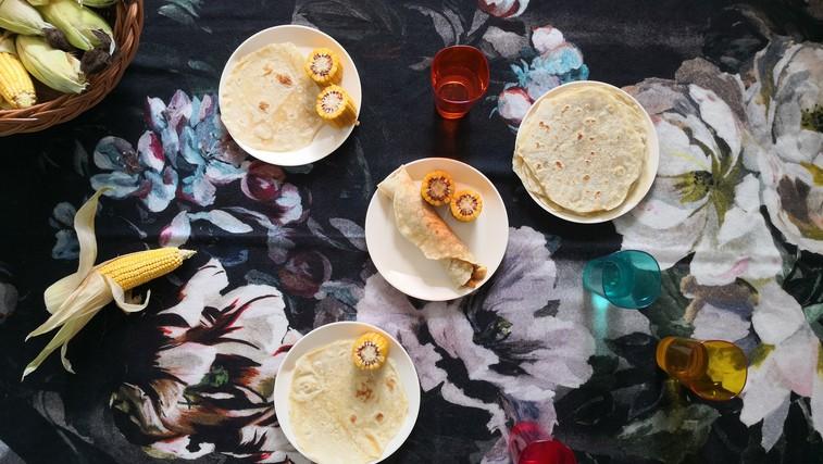RECEPT: Domače tortilje – mehke kot putrček (foto: Alenka Košir)