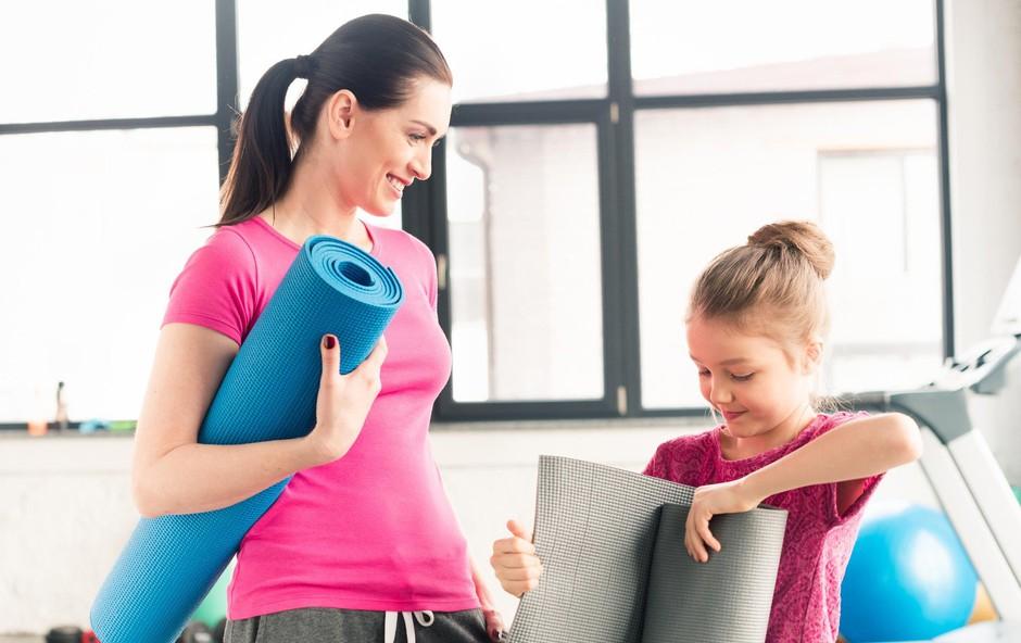 Nasveti za starše, ki se želijo spet lotiti telovadbe (foto: profimedia)