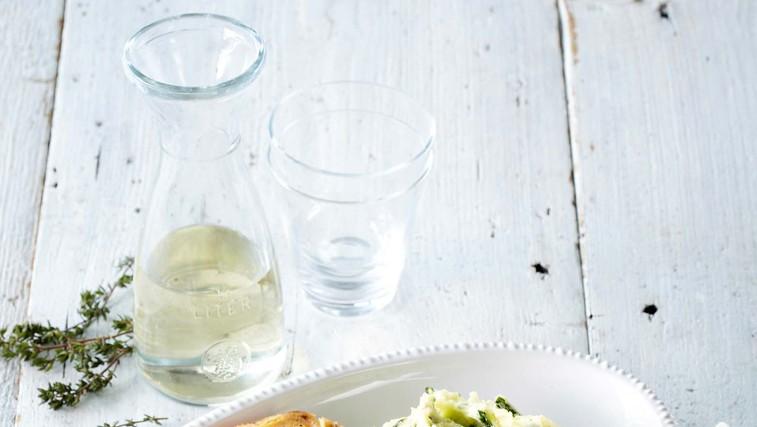 Puranji zvitki na vinu s pire krompirjem (foto: Profimedia)