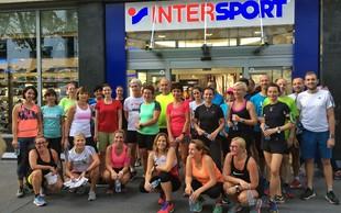 Priprave na Ljubljanski maraton z Adidasom in Intersportom