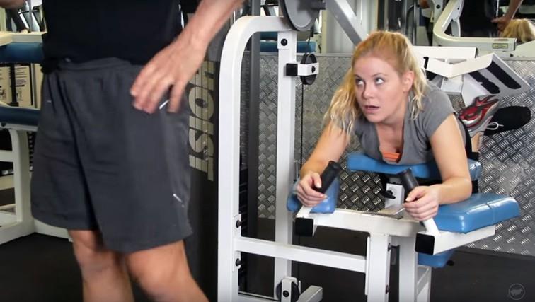 29 nerodnih situacij iz fitnesa (in z vsaj eno ste se zagotovo srečali tudi vi) (foto: YouTube)
