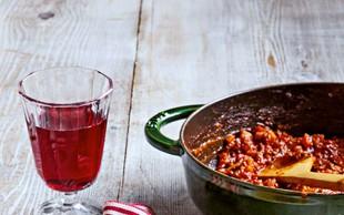 Testenine z bolonjsko omako