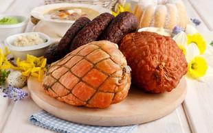 Obedi in obredi Pomurja: Šunka, pečena v medu, postrežena z bučnim pirejem