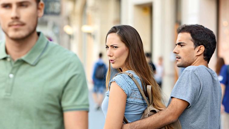 Kako je videti, ko obupan moški lovi žensko (foto: Shutterstock)