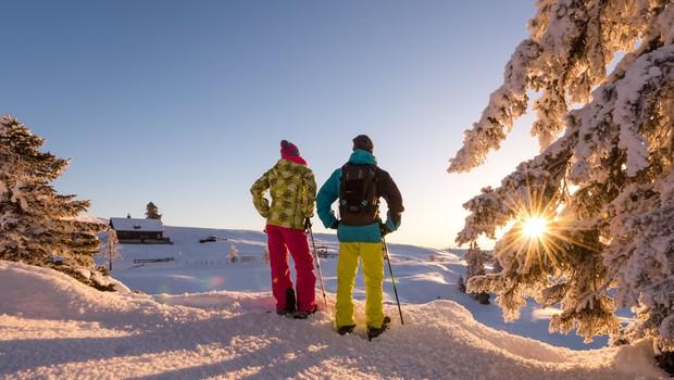 Zimski užitek in termalna zabava na sončni južni strani Alp (foto: Michael Stabentheiner)