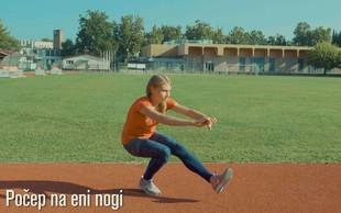 Pomoč pri pripravah na maraton: Vaje moči in stabilizacije (VIDEO)