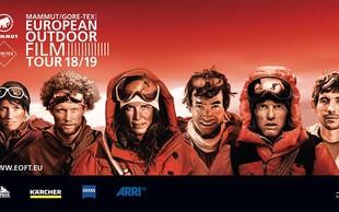 Najbolj nore zgodbe: European Outdoor Film Tourprihaja v Ljubljano, Kranj in Maribor
