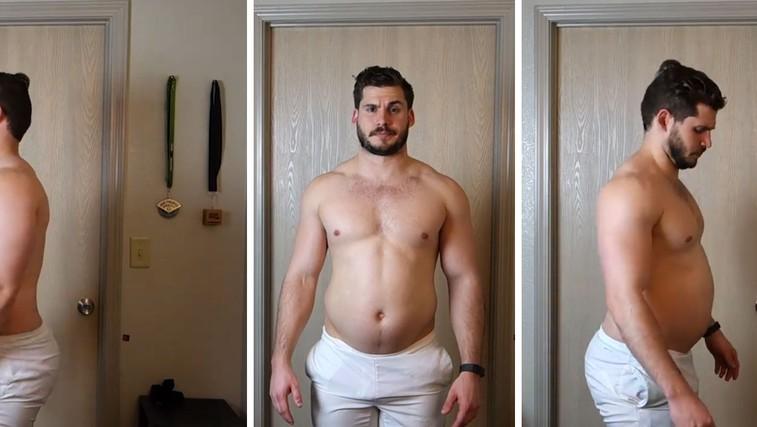 Za navdih: Poglejte si to transformacijo - 19 kilogramov lažji v 12 tednih (VIDEO) (foto: Facebook)