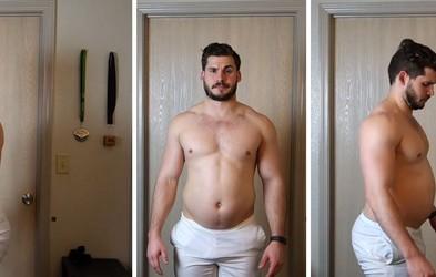 Za navdih: Poglejte si to transformacijo - 19 kilogramov lažji v 12 tednih (VIDEO)