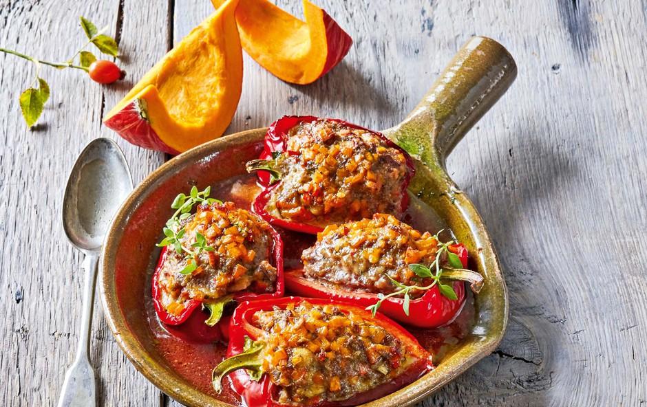 Paprika z bučo in mletim mesom (foto: Profimedia)