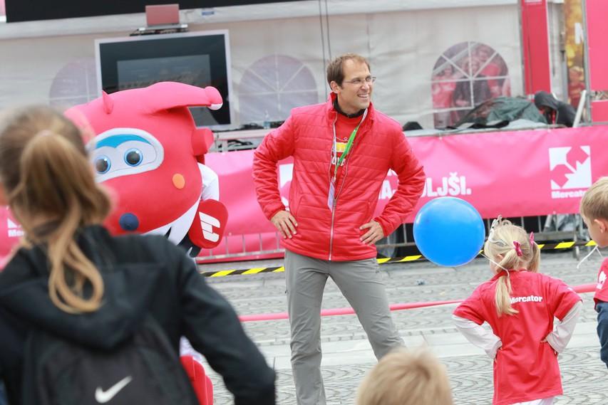 Lumpiji so otvorili Ljubljanski maraton in se pogumno podali na progo #foto