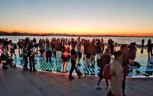 Zadar, mesto najlepšega sončnega zahoda na svetu