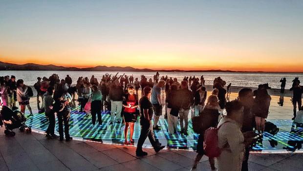Zadar, mesto najlepšega sončnega zahoda na svetu (foto: Suzana Golubov)