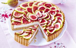 Skutna torta z rožmarinom in figami